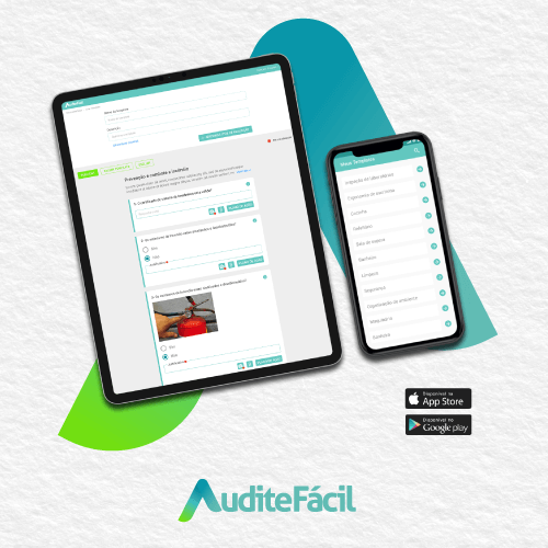 Nunca foi tão fácil auditar, realizar inspeções e ter os resultados sempre à mão! App Audite Fácil