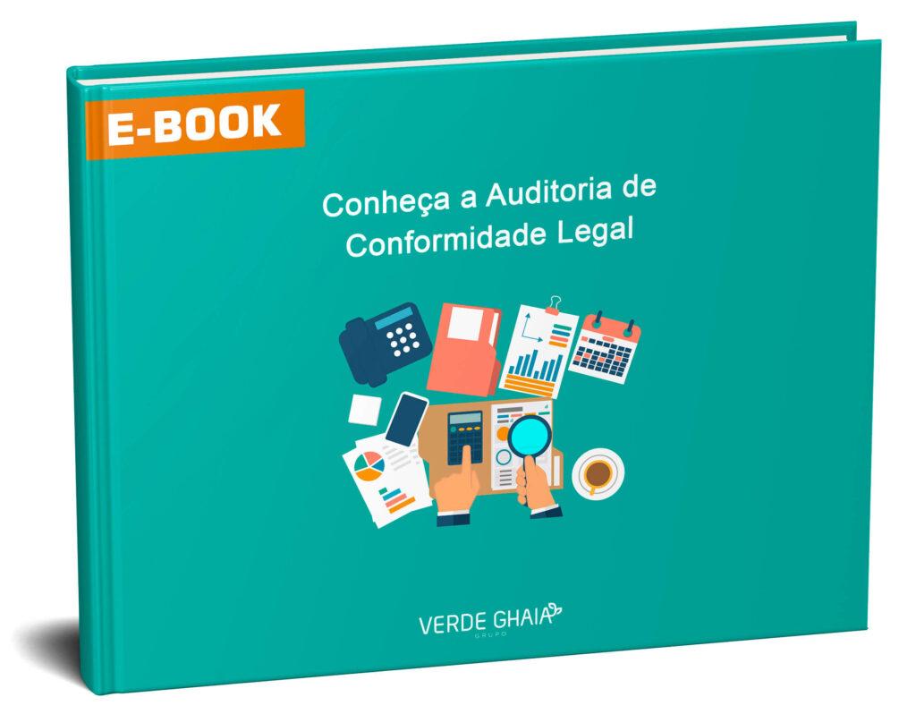 E-book sobre auditoria de conformidade legal.