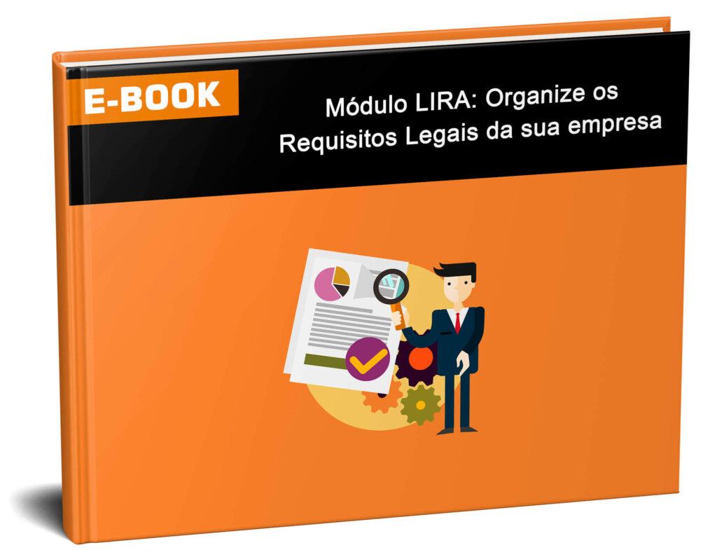 e-book sobre como organizar os requisitos legais aplicáveis ao negócio.