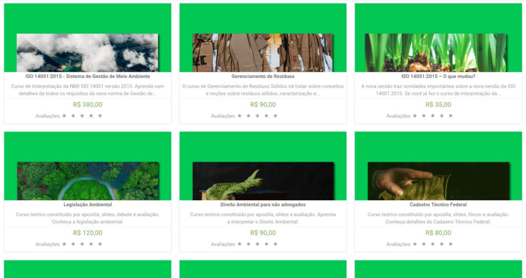 cursos de meio ambiente