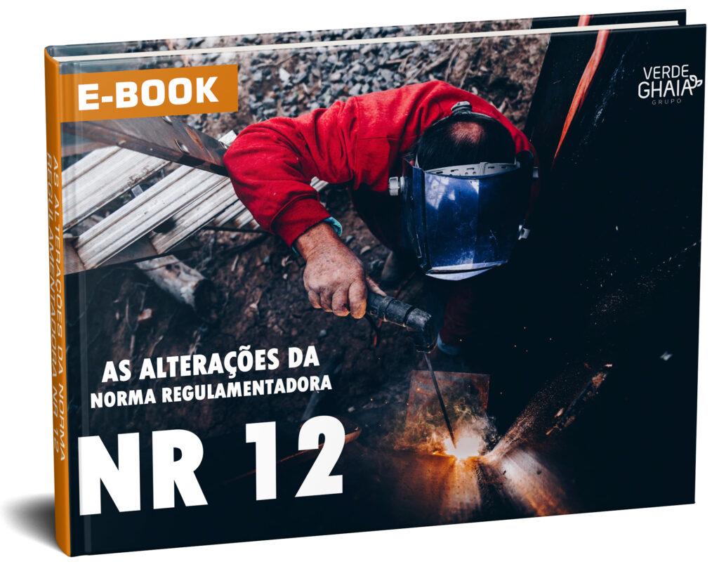 A Norma Regulamentadora NR 12, aborda temas sobre segurança no trabalho em máquinas e equipamentos.