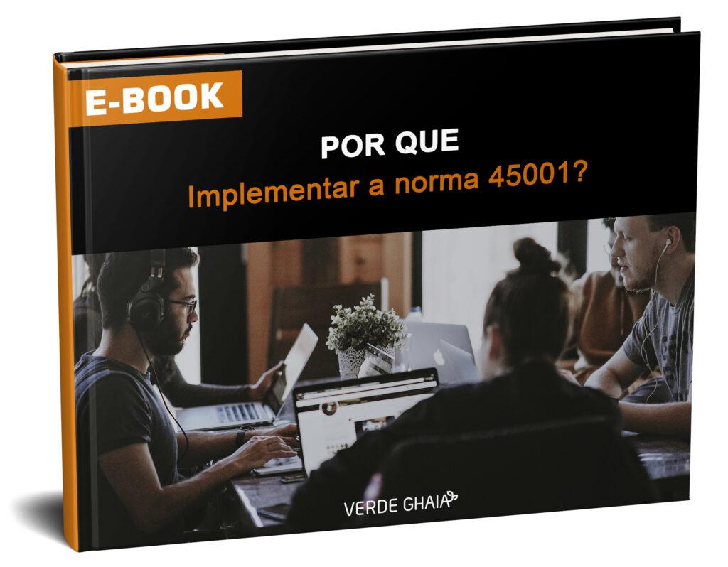 e-book da Norma ISO 45001 - implementação da norma