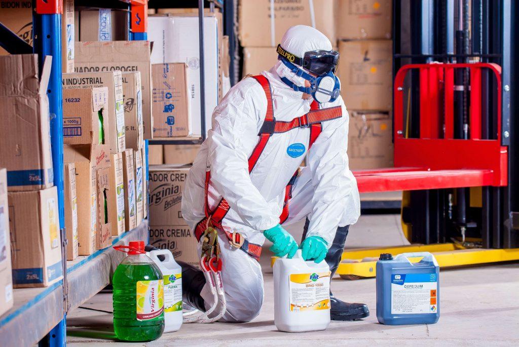 Gestão de Saúde e Segurança Ocupacional  para empresas de produtos químicos industriais