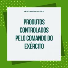 Novos critérios para utilização de produtos controlados pelo Exército