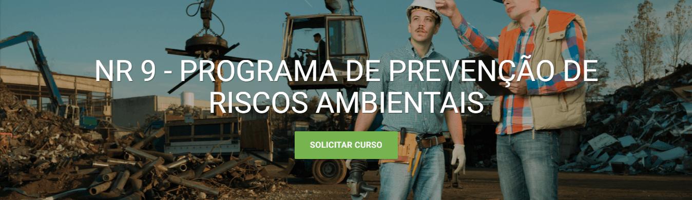 Curso EAD da Verde Ghaia - Programa de Prevenção de Riscos Ambientais - NR 9