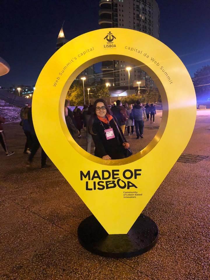Verde Ghaia marca presença no 1° dia do WebSummit Lisboa