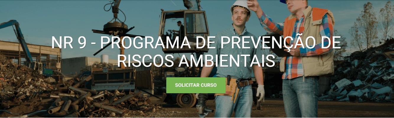 Curso EAD da Verde Ghaia - Prevenção de riscos Ambientais