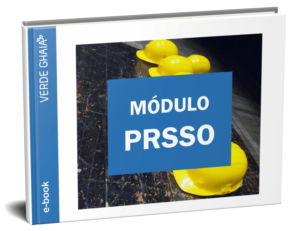 e-book do módulo PRSSO do SOGI para gestão em Saúde e Segurança do trabalhador