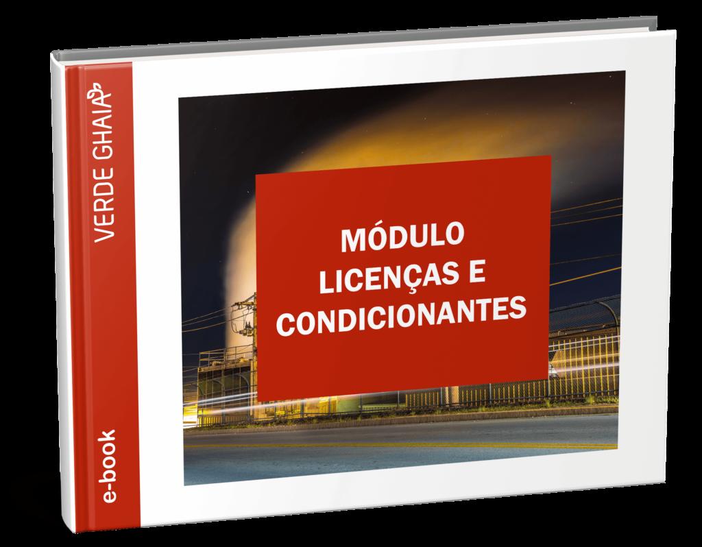 E-book sobre Módulo Licenças e Condicionantes do software de gestão Online SOGI