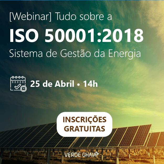 [Webinar] Tudo sobre a ISO 50001:2018 Sistema de Gestão da Energia