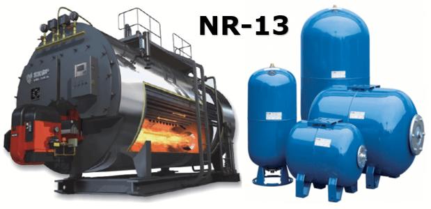 Aplicabilidade da NR 13 - Caldeiras  - vasos de pressão