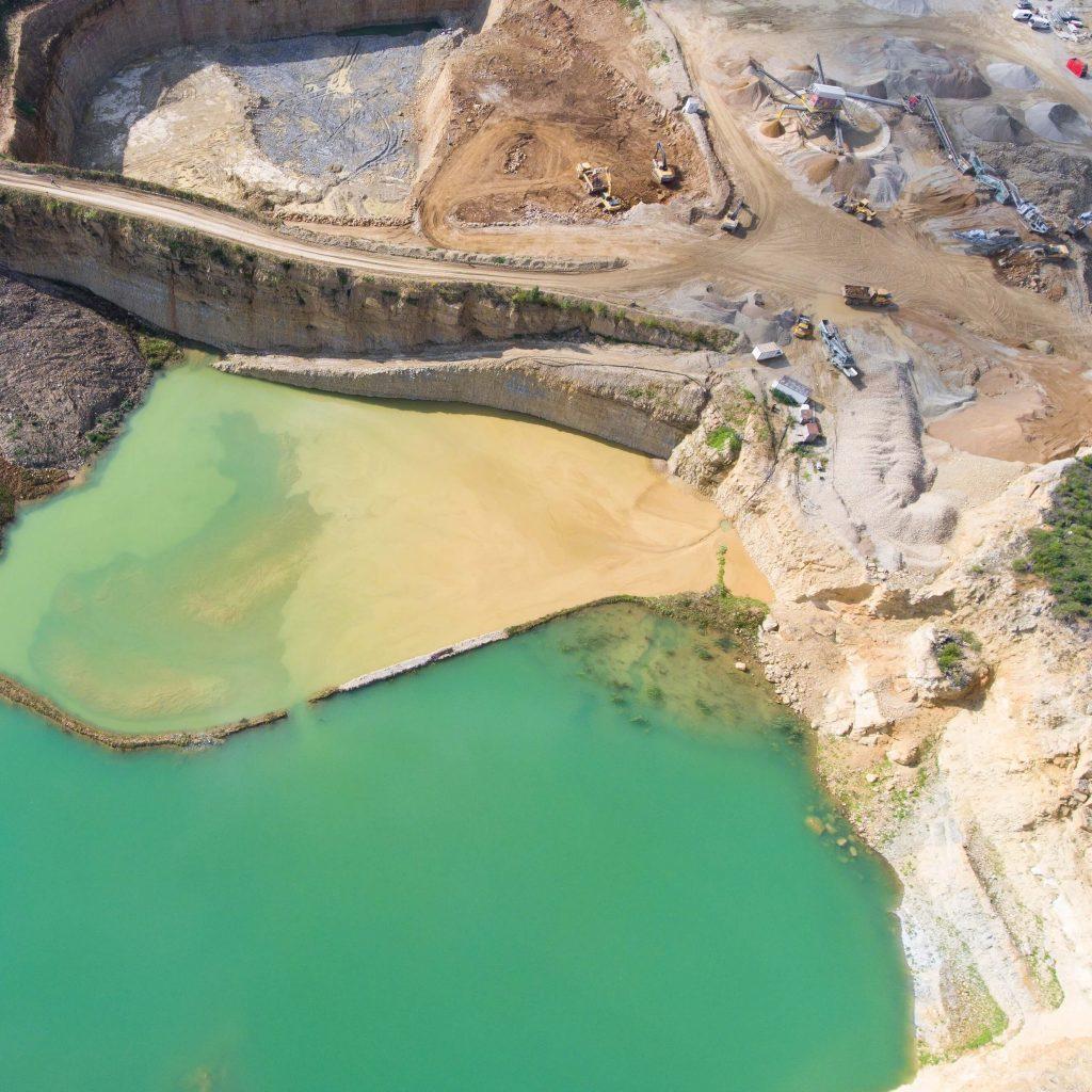 rompimento de barragem