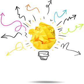 ilustração de uma lâmpada para fazer alusão aos ganhos com a implementação da ISO 45001