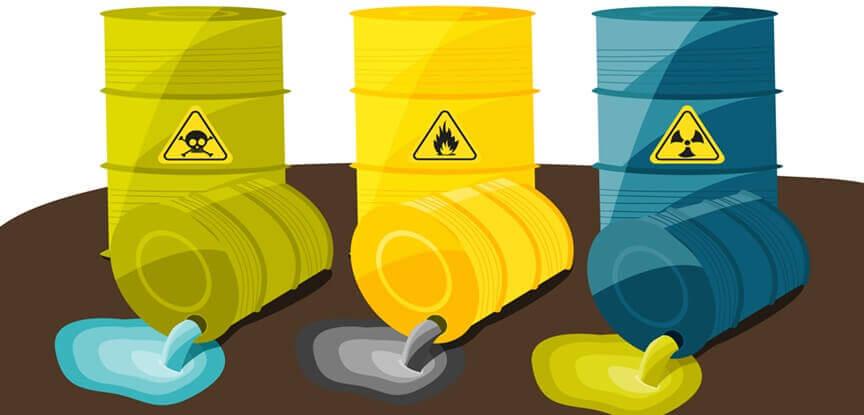 Em quais casos é necessário ficha de emergência para resíduos não perigosos?