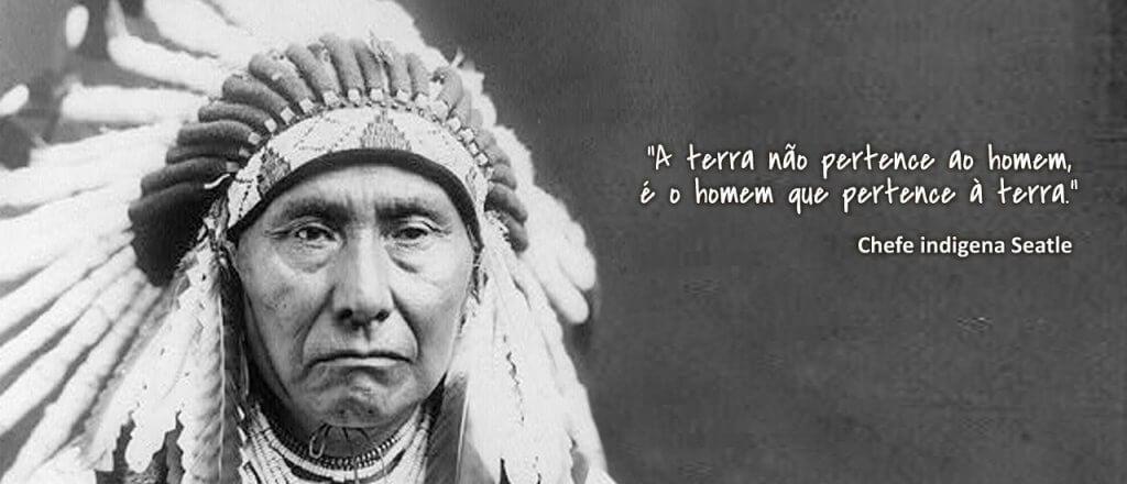Carta do Cacique Seattle da tribo Suquamish