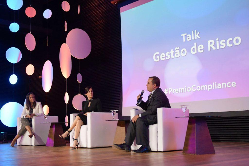 TALK SHOW SOBRE GESTÃO DE RISCOS IV PRÊMIO COMPLIANCE BRASIL 2019 DA VERDE GHAIA - AUDITÓRIO DO SICEPOT EM BH.