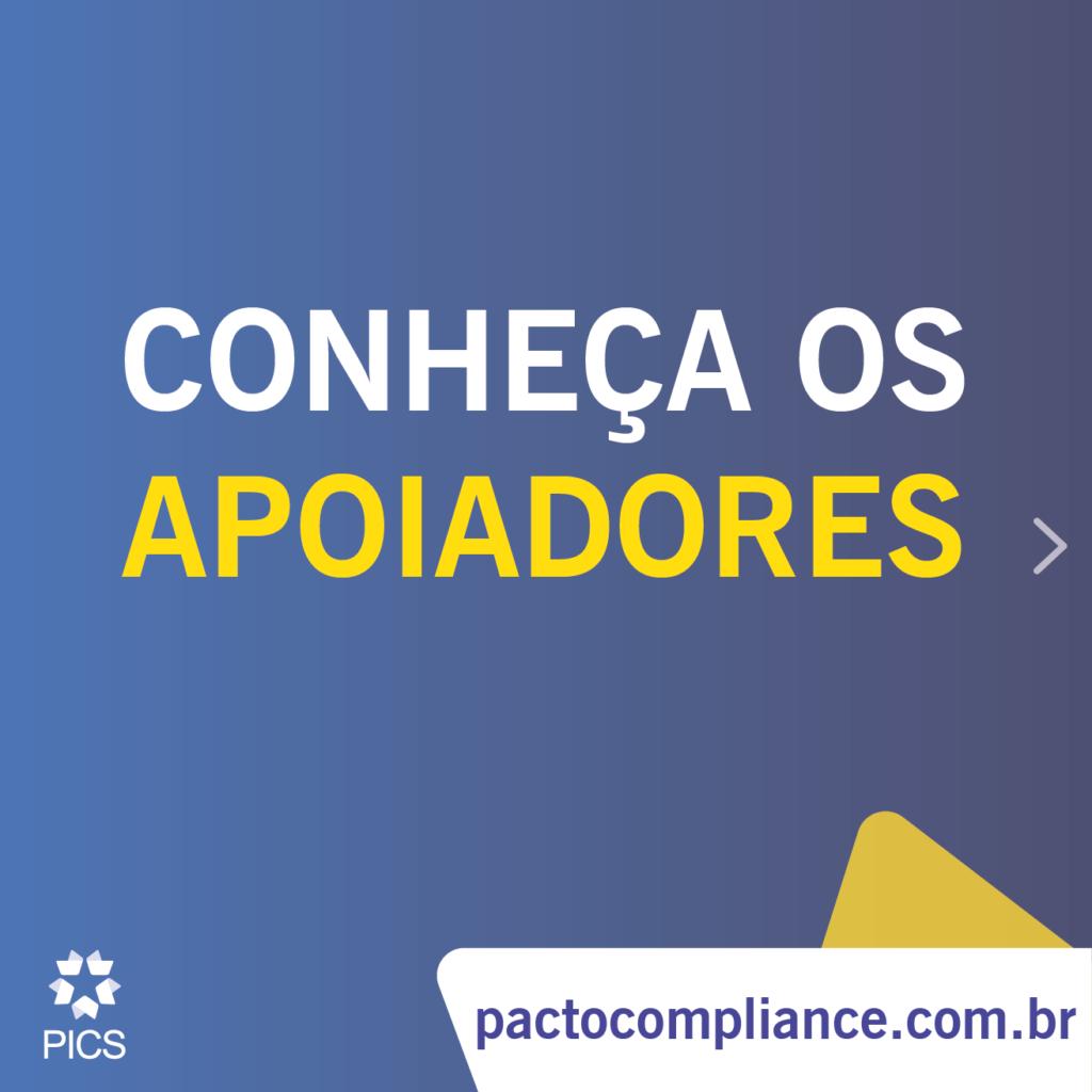 Responsabilidade corporativa - Pacto de Integridade e Compliance pela Sustentabilidade