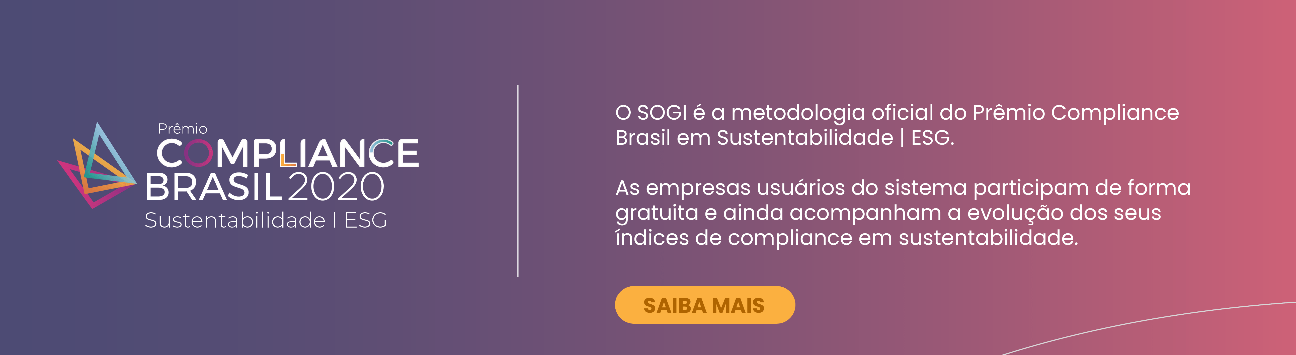 V Prêmio Compliance Brasil 2020